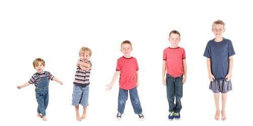 Etapy rozwoju dojrzałości, przez które przechodzą dzieci