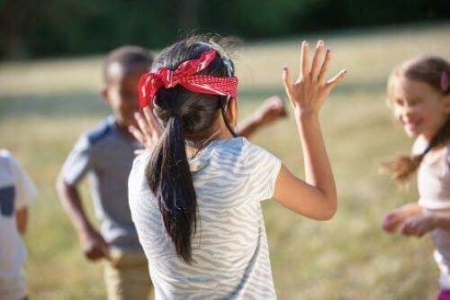 Zabawy integracyjne dla dzieci z wadami wzroku