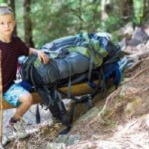 Dziecko i plecak