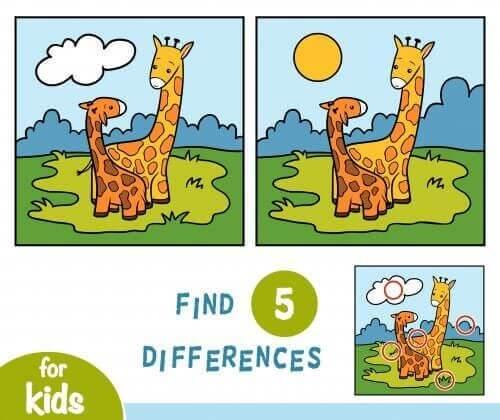 Znajdź 5 różnic