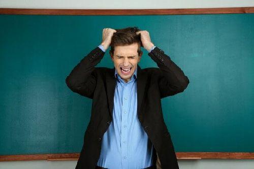 Frustracja nauczyciela