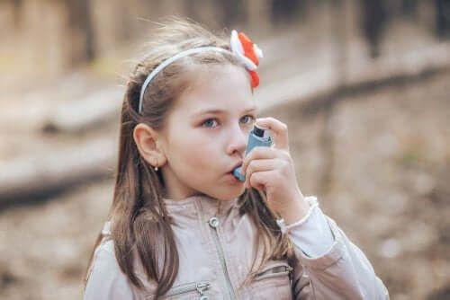 Dziecko i flutykazon