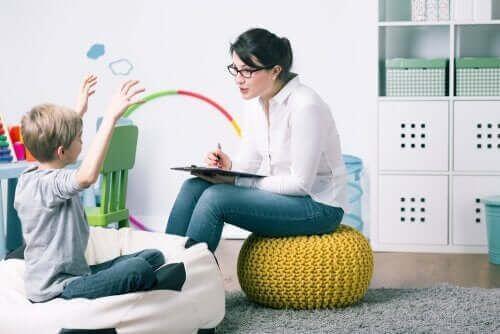 Dziecko i psycholog