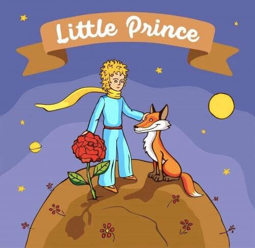Mały Książę i lis
