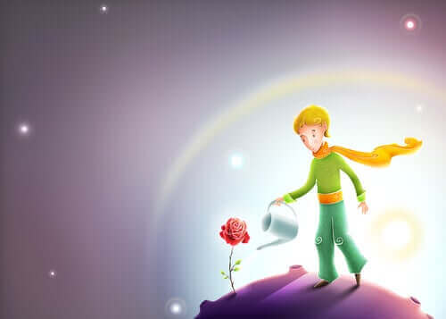 Mały Książę i róża