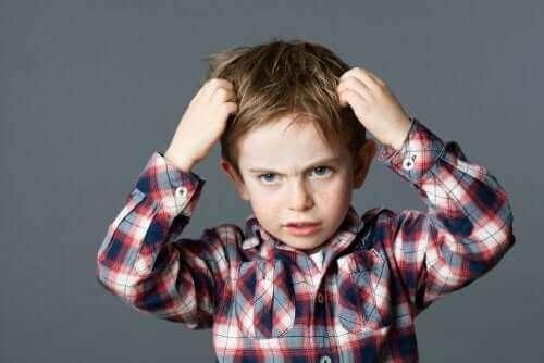 Poddenerwowane dziecko - samokontrola u dziecka
