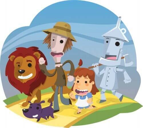 Czarnoksiężnik z krainy Oz - krótkie nowele dla dzieci