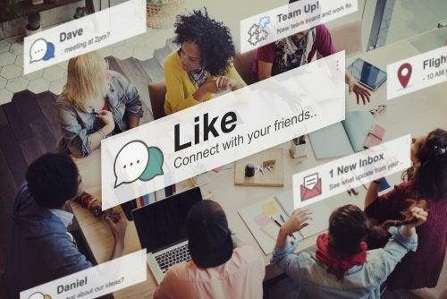 Notyfikacje w mediach społecznościowych