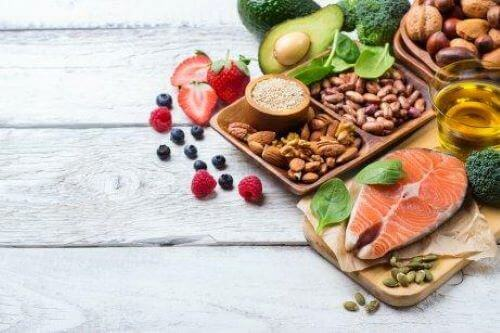 Zdrowe produkty żywnościowe