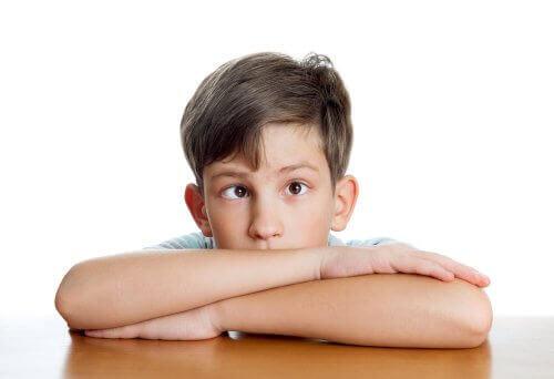 Chłopiec z zezem