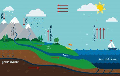 Jak wyjaśnić dzieciom cykl obiegu wody w przyrodzie?