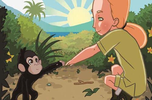 Jane Goodall - kreskówka