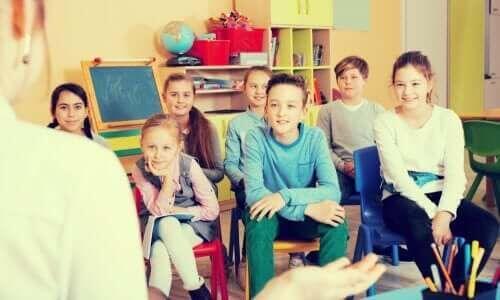 Lekcja w klasie