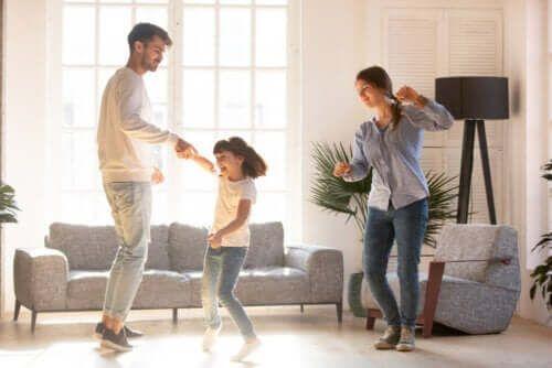 Taniec całą rodziną