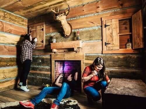 Dzieci w escape room