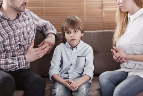 Rodzice krytykują dziecko