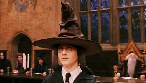 Harry i tiara przydziału