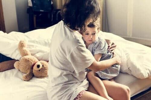 Pocieszanie dziecka