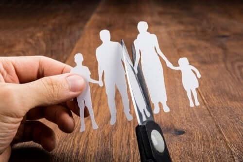 Separacja rodziców i przydział opieki nad dzieckiem