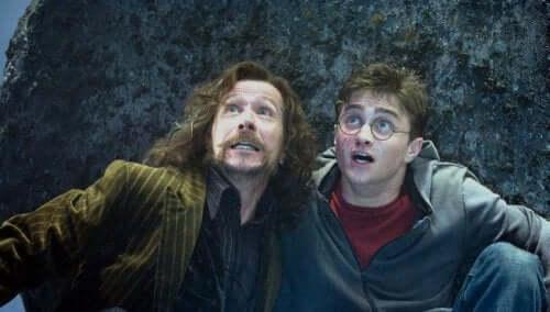 Syriusz Black i Harry Potter