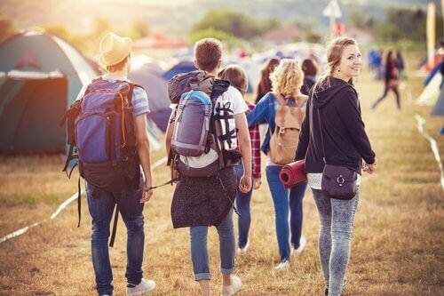 Grupka młodzieży