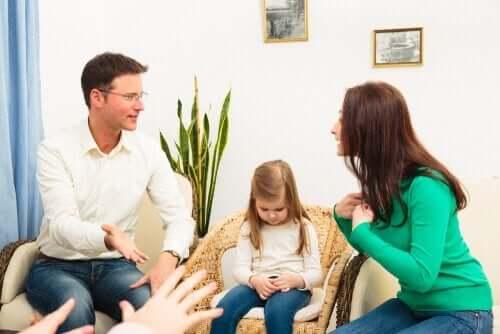 Kłótnie w rodzinie