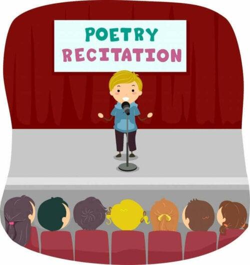 Recytowanie poezji
