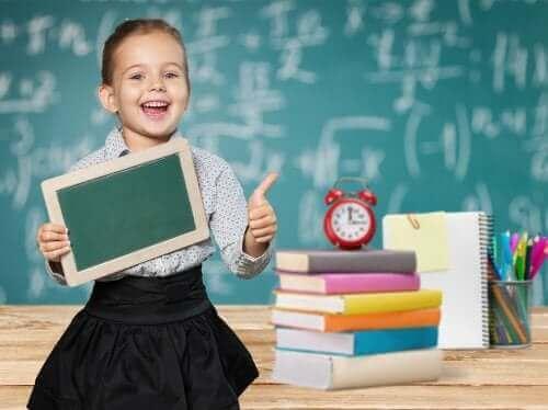 Zdolna uczennica - testy inteligencji dla dzieci