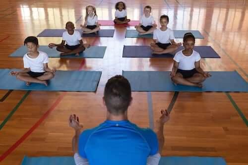 Nauczyciel jogi
