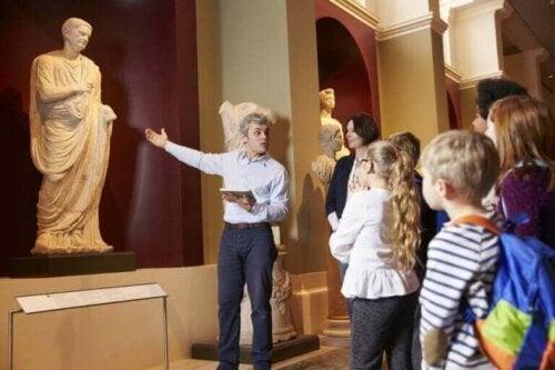 Sztuka - wizyta w muzeum