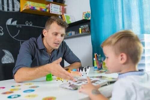 Dziecko w czasie lekcji