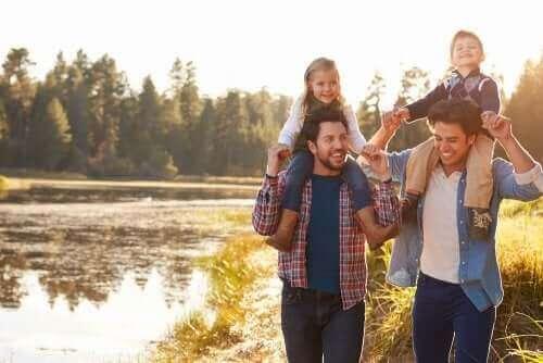 Ojcowie z dziećmi