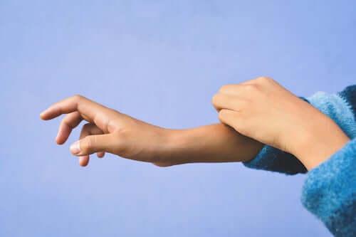 Dziecięce dłonie