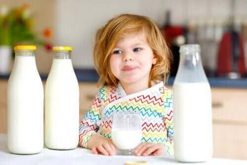 Alergia na białko mleka krowiego u dzieci