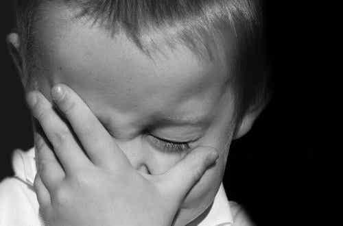 Zrozpaczone dziecko