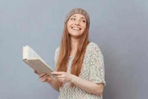 Nastolatka z książką