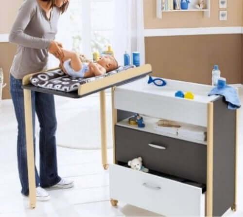 Produkty dla niemowląt - przewijak