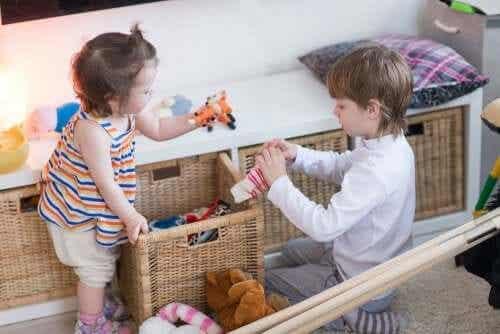 Sprzątanie zabawek