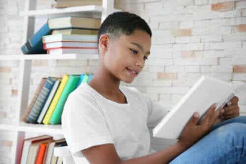 Dziecko czyta