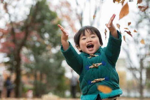Dziecko w parku