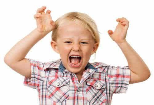 Krzyk u dziecka