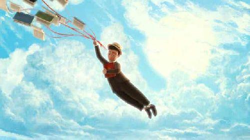 Scena z The Fantastic Flying Books of Mr.