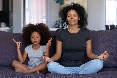 Uważnośći medytacjadla całej rodziny