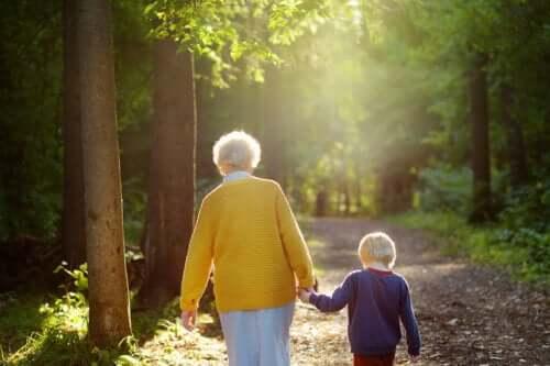 Babcie to światła, które kierują wnuki na właściwą drogę